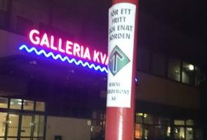 Affischering i Mjölby