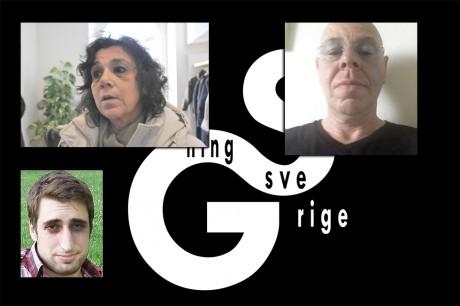 Revisión Suecia llamada para poner tres cables de alimentación judío a la pared: Lena Posner Kőrösi, Willy Silberstein y Jonathan Leman.