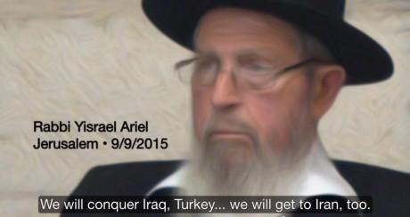 Skräder inte i ordet, den judiska ledaren uppmanar sina åhörare att fortsätta strävan efter att tvinga mänskligheten till att lyda under judisk lag.