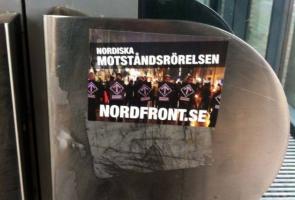 Klistermärkesuppsättning i Helsingborg