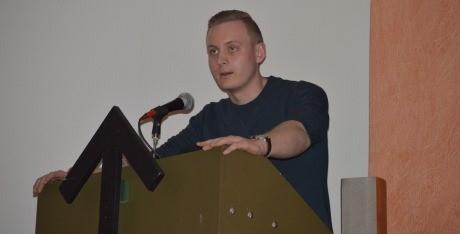 Oscar Bergström, filmansvarig i mediagruppen.