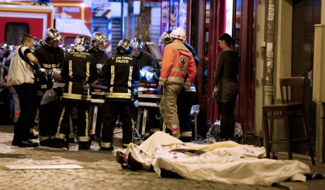 Attacken i Paris i november förra året.