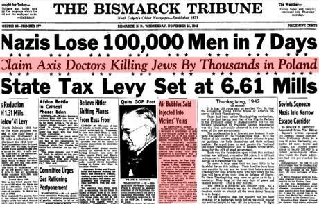 Judar dödades med injecering