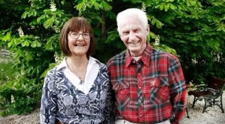 Olle Ljungbeck, 82, med hustru. Ett hot mot rikets säkerhet?