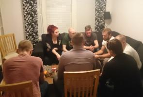 Gruppmöte och diskussionskväll i Göteborg