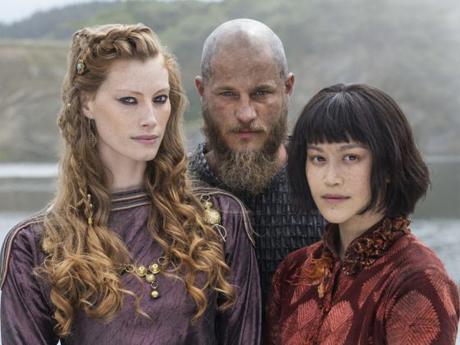 Aslaug, Ragnar och Yidu.