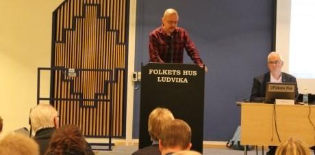 Pär Öberg i Ludvika kommunfullmäktige.