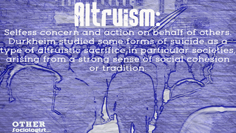 Altruism får inte bli självskadlig.