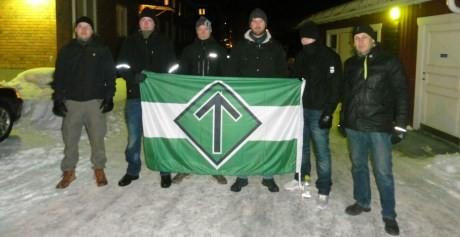 gruppfoto nattvandring östersund