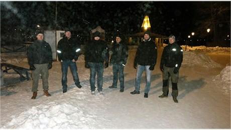 nattvandring östersund gruppfoto