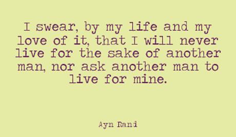 Individualism enligt Ayn Rand.