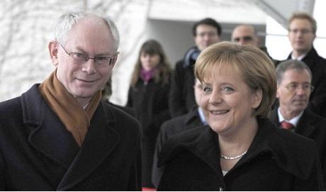 Förutom att aktivt arbeta för den vita rasens undergång har både Herman Van Rompuy och Angela Merkel emottagit Coudenhove-Kalergis Europeiska pris.