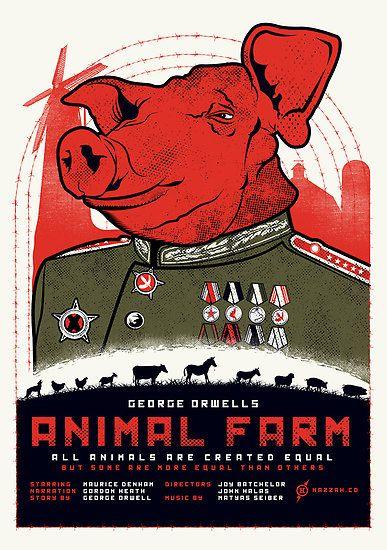 Anmal Farm, George Orwell sätter fingret på hur makt korrumperar.