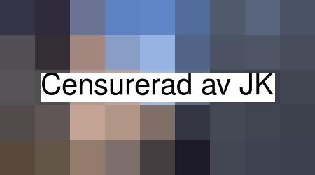 """Det var på stadsdelen Moröhöjden i Skellefteå som någon satt upp klistermärken med ett """"hatfyllt"""" budskap."""