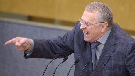 Den judiske politikern Vladimir Zjirinovskij.