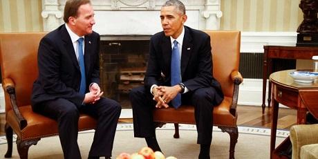 Under ett toppmöte i början av maj planerade Löfven och Obama ännu ett toppmöte.