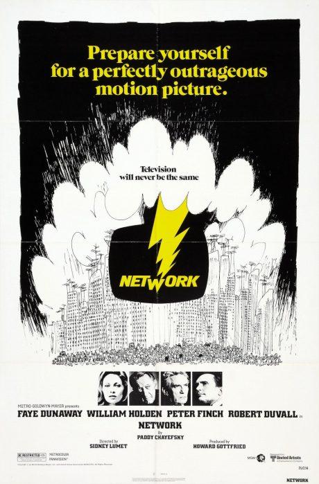 Network, en film som ifrågasätter medias makt.