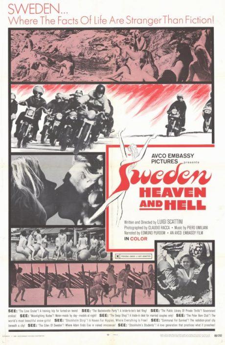 Sweden heaven and hell, en italiensk dokumentär om det dekadenta Sverige.