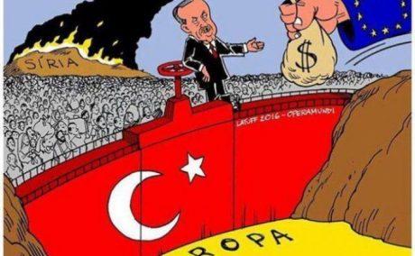 """Den tidigare """"flyktingöverenskommelsen"""" mellan Turkiet och EU tycks nu definitivt läggas på is."""