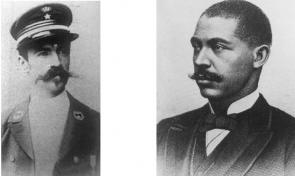 Verklighetens Leon Rom och George Washington Williams.