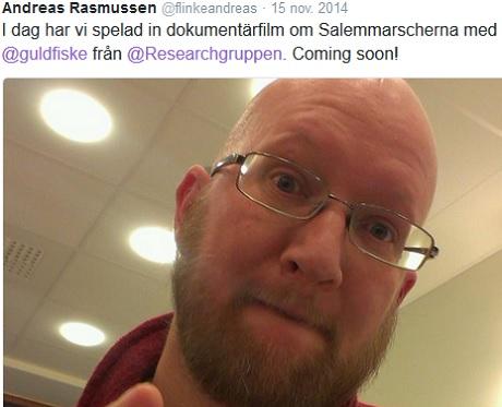 Andreas Rasmussen i samarbete med Mathias Wåg från Researchgruppen.