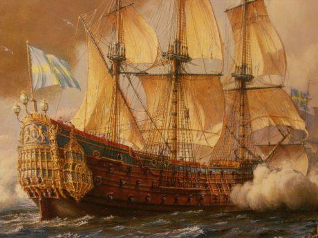 Regalskeppet Kronan.