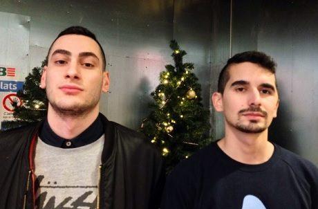Nadim Balbaaki till vänster och Showan Shattak.