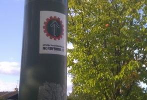 Klistermärkesuppsättning och städning i Borlänge
