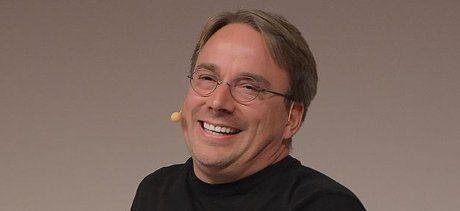 Linus Torvalds, skaparen av Linux.