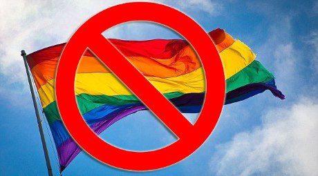 no pride flag