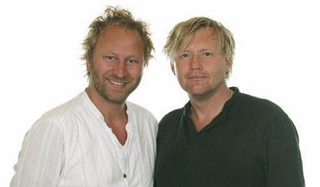 Sören Olsson, Anders Jacobsson - skaparna av karaktären Bert Ljung.