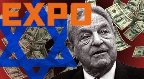 George Soros finansierar underrättelsetjänsten Expo i Sverige.