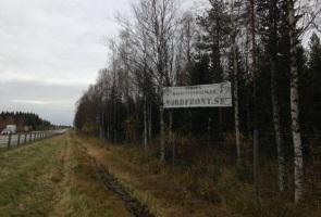 Banderolluppsättning i Luleå kommun