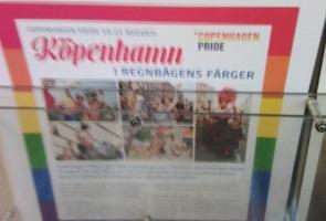 Aktivism på tåg i Emmaboda