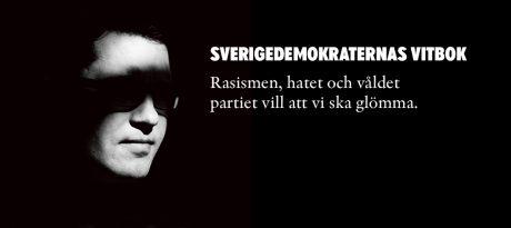 """Det gäller att inte fastna i det förgångna. Expo släppte 2014 en bok om Sverigedemokraternas """"bruna förflutna"""""""