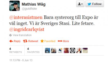 Researchgruppen är Expos systerorganisation fast lite fetare, enligt Mathias Wåg.