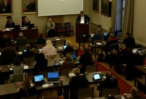 Parlamentarisk aktivitet i Borlänge