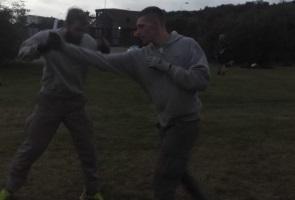 Kontinuerlig kampträning i Göteborg
