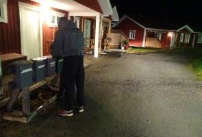 Intensiv flygbladsutdelning i Luleå kommun