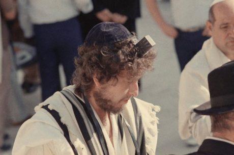 En ung Bob Dylan i Israel.