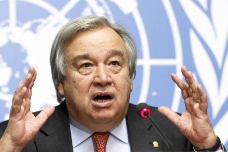 United Nations High Commissioner for Refugees, UNHCR, Portuguese Antonio Manuel de Oliveira Guterres