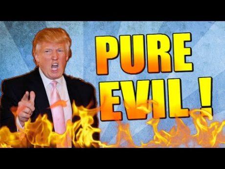 Trump som media vill att vi ska se honom.