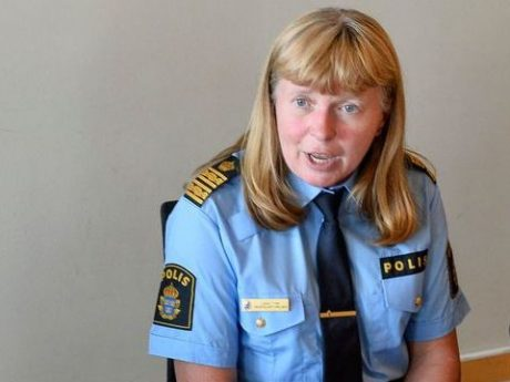 Lena Tysk - Eliasson-lojal polischef som bland annat uttalat dödshot mot en kollega.