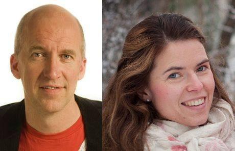 """Rektorerna Ulf Marklund och Anna Burstedt berömmer sin personal för """"snabbt och rådigt agerande""""."""