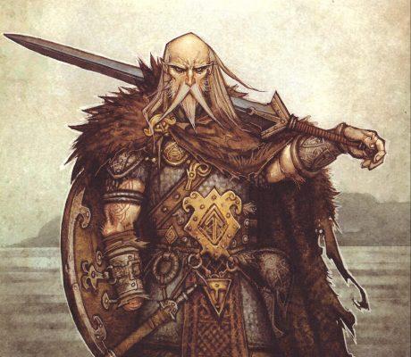 Tyr, den allra modigaste av asarna och en väldigt stark runa.