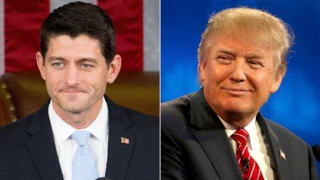 Kongressens talman Paul Ryan har tidigare visat distans mot sin partikamrat Donald Trump.