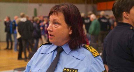 Annika Stenberg, polischef Region Syd.
