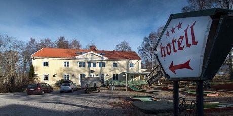 Turisthotellet i Ljungskile var tänkt att användas som HVB-hem av det privata företaget Hero.