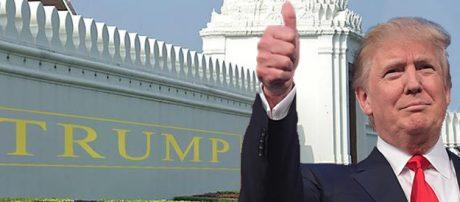 Trumps invandringspolitik har stöd hos de amerikanska folket enligt Ipsos.
