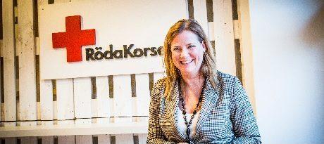 """Från ordförande i Röda korset till orwellianska uppdrag åt regimen - Anna Carlstedt blir ny """"samordnare mot våldsbejakande extremism""""."""
